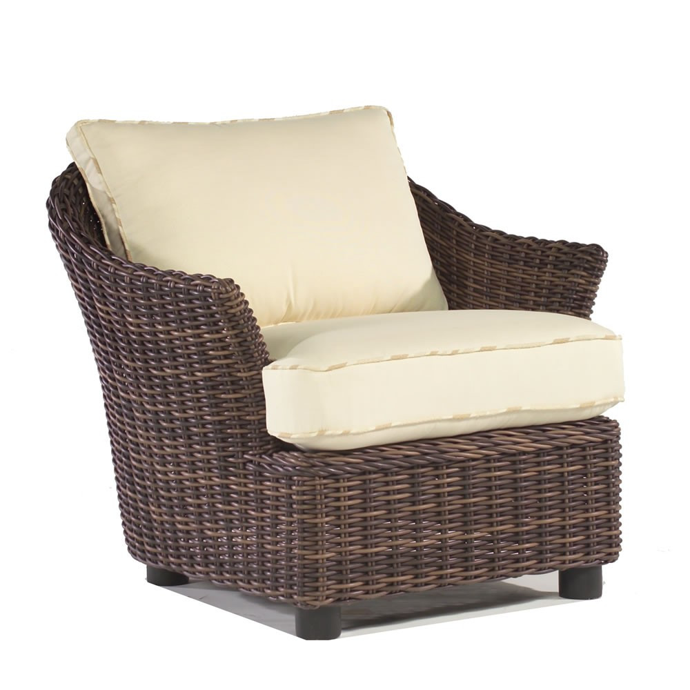 WhiteCraft by Woodard Sonoma Wicker Lounge Chair - Replacement ...