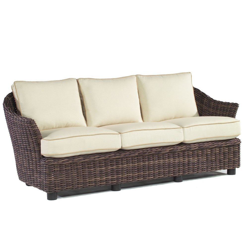 Whitecraft By Woodard Sonoma Wicker Sofa Replacement Cushion Whitecraft By Woodard Sonoma