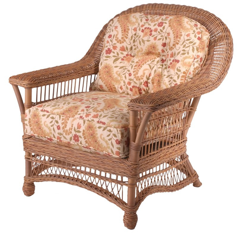Replacement cushion whitecraft by woodard cottage wicker - Replacement cushions for wicker patio furniture ...