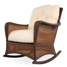 Outdoor Rocking Chairs // Wicker Central - WickerCentral.com