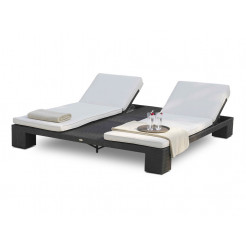 Forever Patio Hampton Wicker Double Adjustable Chaise