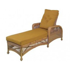 Tropitone windsor woven wicker chaise lounge for Chaise windsor