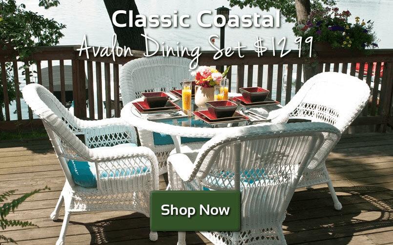 Classic Coastal Avalon Dining Set $1299