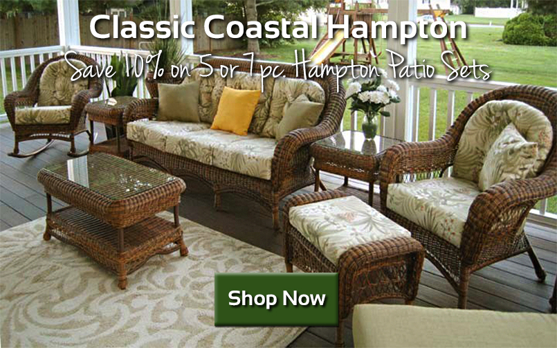 10% off Classic Coastal Hampton Sets