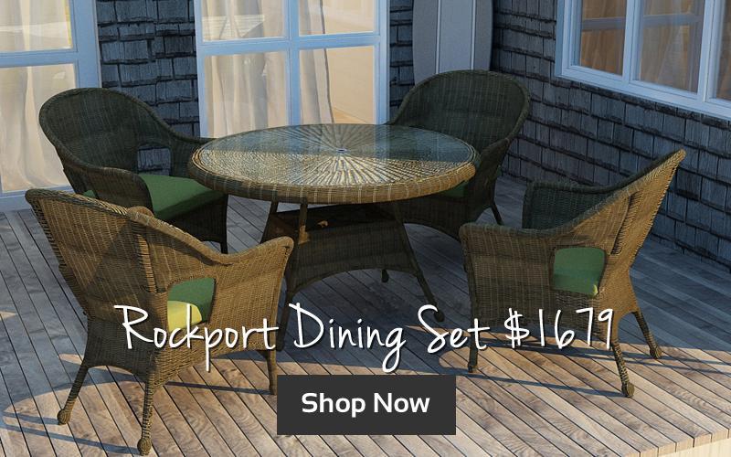 Forever Patio Rockport Dining Set $1679