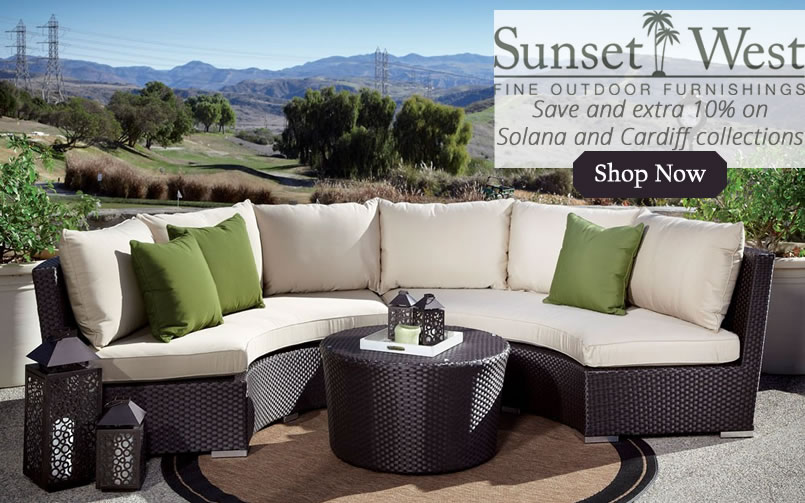 Save on Sunset West Solana & Cardiff Collections