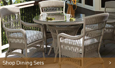 Shop Outdoor Wicker Dining Sets