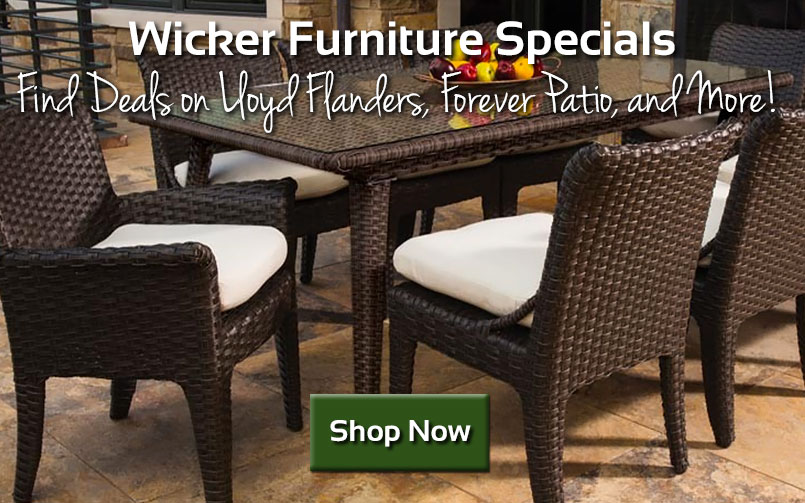 Wicker Furniture Specials