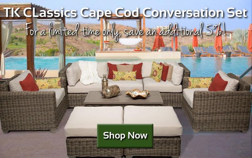 Save on TK Classics 8 Piece Conversation Set