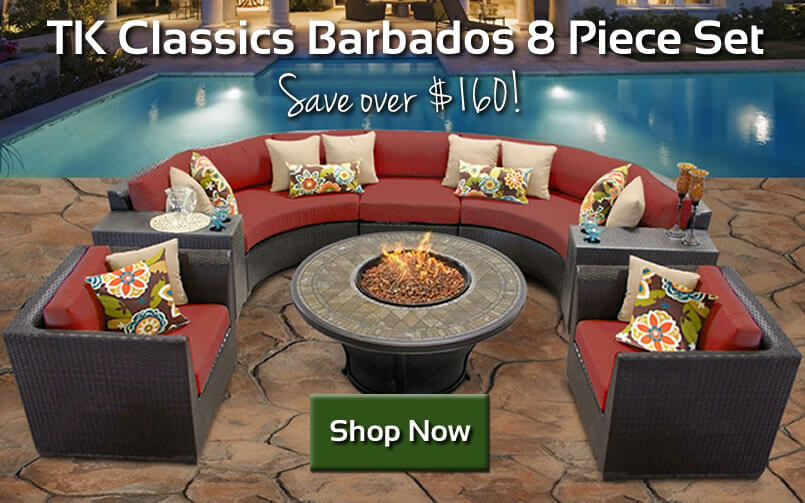 Save on TK Classics 8 Piece Sectional Set