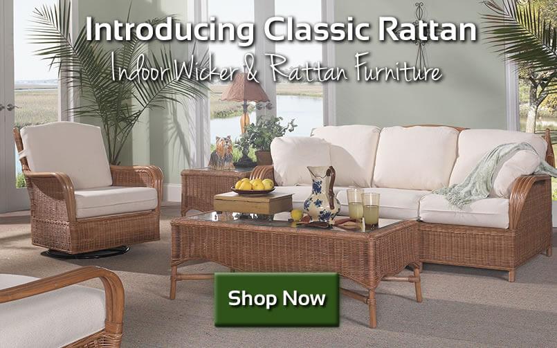 Introducing Classic Rattan Indoor Wicker Furniture