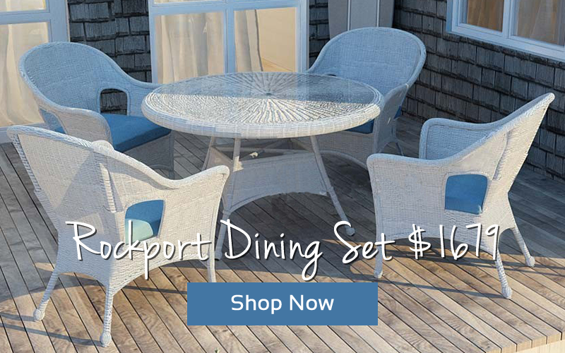 Forever Patio Rockport Dining Set $1679