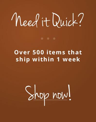 Need it Quick?