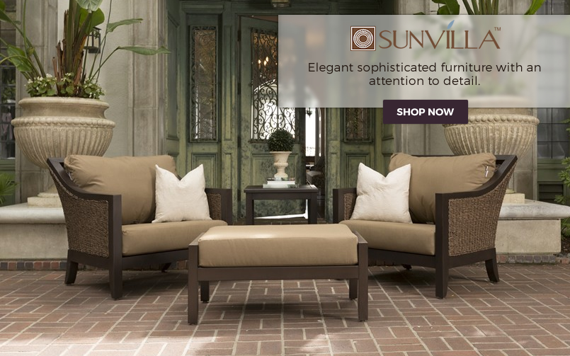 Introducing Sunvilla Outdoor Wicker Furniture