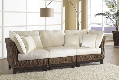Indoor Wicker Living Room Furniture Wickercentral Com