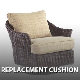 Add To Wishlist. WhiteCraft By Woodard Sonoma Wicker Swivel Chair   Replacement  Cushion Part 43